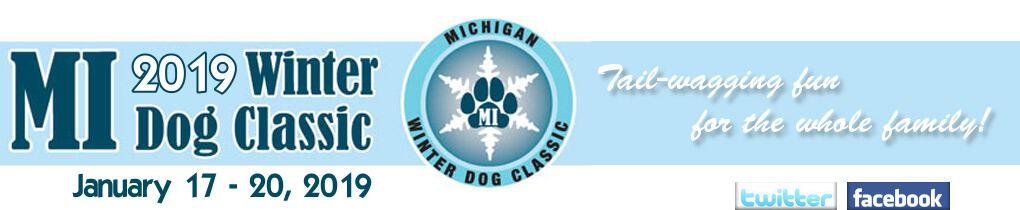Winter dog classic logo